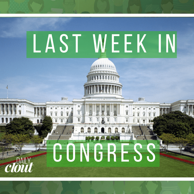 last week in congress